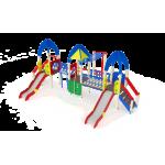 Детский игровой комплекс                           Космопорт Горка 1200                                           8740х5760х4220