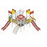 H=1200 Детский игровой комплекс «Замок»  6600х5800х3500